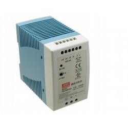 Zasilacz Mean Well wodoodporny 60W, IP67, 24V DC, plastik