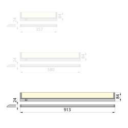 Zasilacz DELTA MODUŁOWY PMT 35W, 12V DC, metal