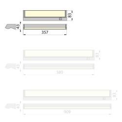 Zasilacz DELTA MODUŁOWY PMT 150W, 12V DC, metal