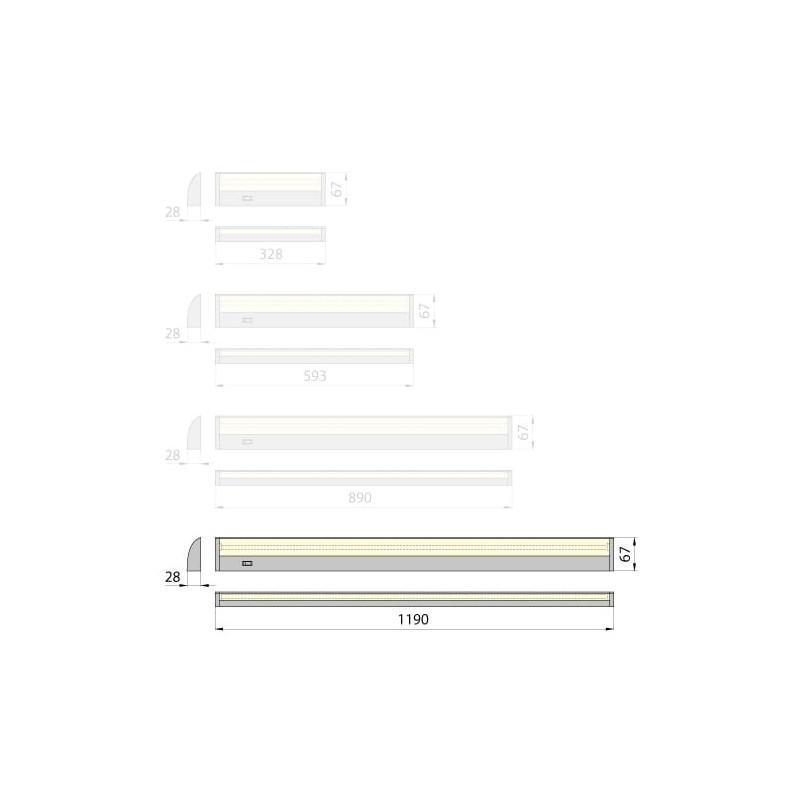 Lampa wodoszczelna Kluś HR- KAT-200, 9,4W, IP67, 12V DC, gwarancja 2 lata