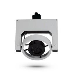 Szyna montażowa do reflektorów szynowych - biała
