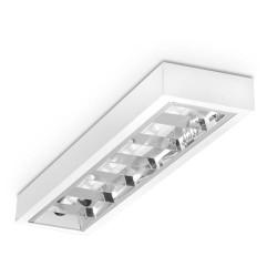 Świetlówka LED 6W T5-550mm z oprawą, przezroczysta