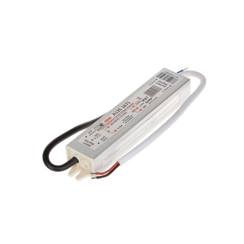 Taśma LED ECO 4,8W/m, 60xLED SMD 3528/m, IP20, żółty, 5m