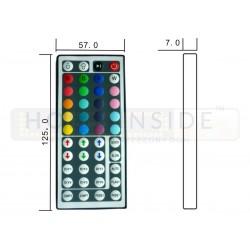 Taśma LED ECO 14,4W/m, 60xLED SMD 5050/m, RGBW BZ, IP20, 5m