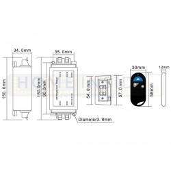 Taśma LED PRO+ 4,8W/m, 390lm/m, 6000K, Ra80, 12VDC, IP20, 5m