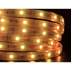 Taśma LED ECO 6W/m, 60xLED SMD 2835/m, IP20, biały ciepły, 5m