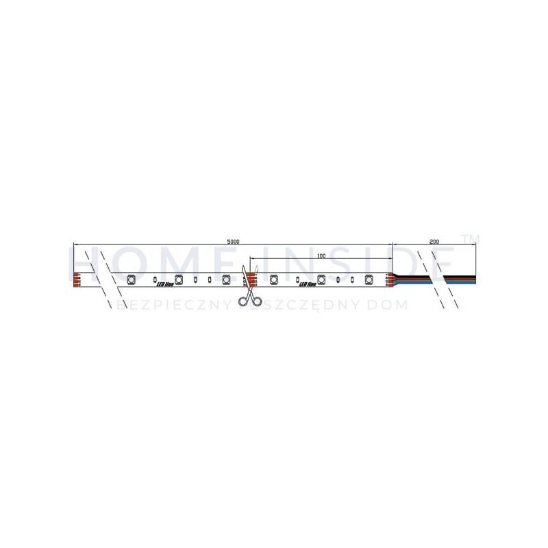 Listwa LED OSRAM 13W/m, 1215lm/m, 2700K, 24VDC, IP20, 1m, gwarancja 5 lat