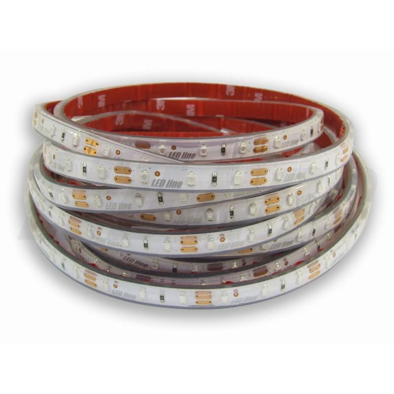 Taśma LED PRO 4,3W/m, 420lm/m, 3000K, Ra65, 24VDC, IP20, 5m