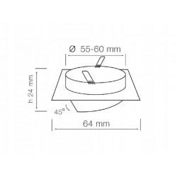 Taśma LED ECO 4,8W/m, 60xLED SMD 3528/m, IP65, biały neutralny, 5m