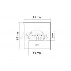 Żarówka AKME LED AR111 20W 3000K