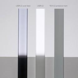 Taśma LED PRO 6W/m, 60xLED SMD 2835/m, IP20, czerwony, 1m