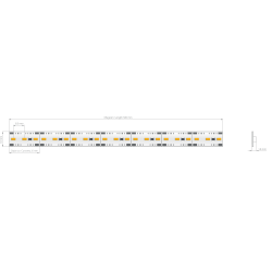 Listwa LED HQ-120E3 12V 9.6...