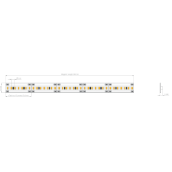 Listwa LED HQ-210E3 24V 9.6...