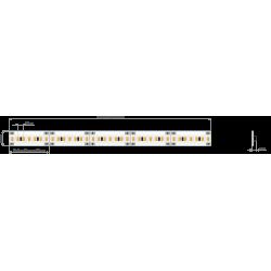 Półka podświetlana LED 400x150x6mm