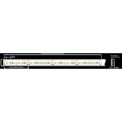 Półka szklana LED 700x200x8mm