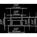 Rozgwieżdżona podłoga ściana FUG3-200 3m