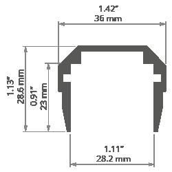 Nowoczesny żyrandol SOF-11 60x200cm